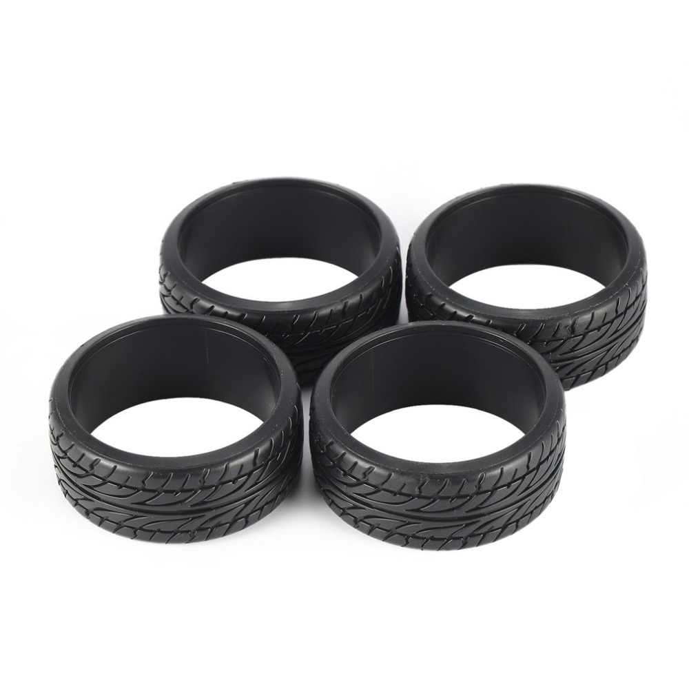 Hot! 4pcs 1/10 Medium Grain Drift RC On-road Autoband Plastic Harde Band 26mm voor Wielen KYOSHO TAMIYA HPI Redcat Racing HSP Band