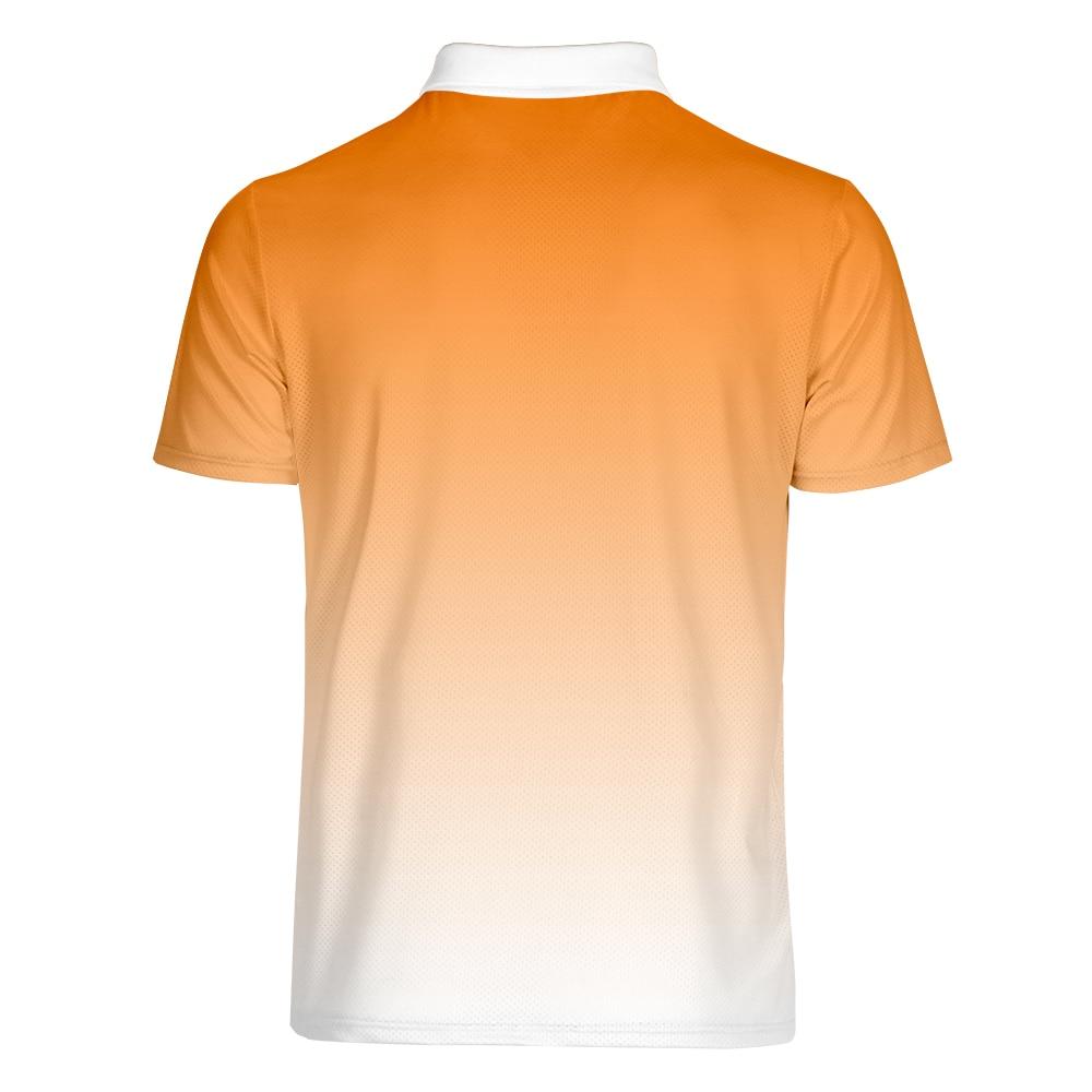 Erkek Kıyafeti'ten Polo'de WAMNI Erkekler çizgili Polo gömlek 2019 Iş Rahat Vücut Geliştirme Spor turn aşağı Yaka Degrade Kısa Kollu Polo gömlek S 4XL'da  Grup 3