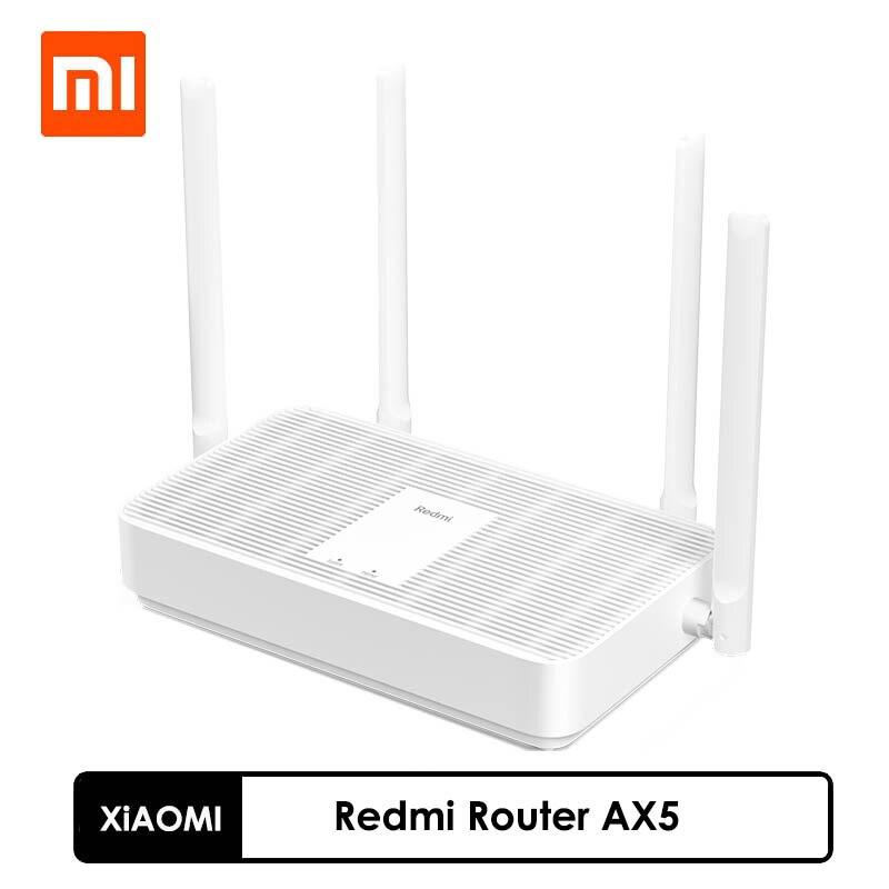 Новый роутер Xiaomi Redmi AX5 WiFi6, 5-ядерный чип Qualcomm, 4 независимых усилителя, быстрый Wi-Fi 6, поддержка сетчатых сетей 2,4/5 ГГц