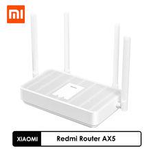 Nouveau Xiaomi Redmi routeur AX5 WiFi6 Qualcomm puce 5 cœurs 4 amplificateurs indépendants, WiFi rapide 6 prise en charge de la mise en réseau maille 2,4/5 GHz