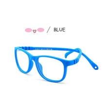Óculos do bebê crianças crianças menino meninas computador transparente anti reflexivo óculos uv400 para 0-4 anos de idade
