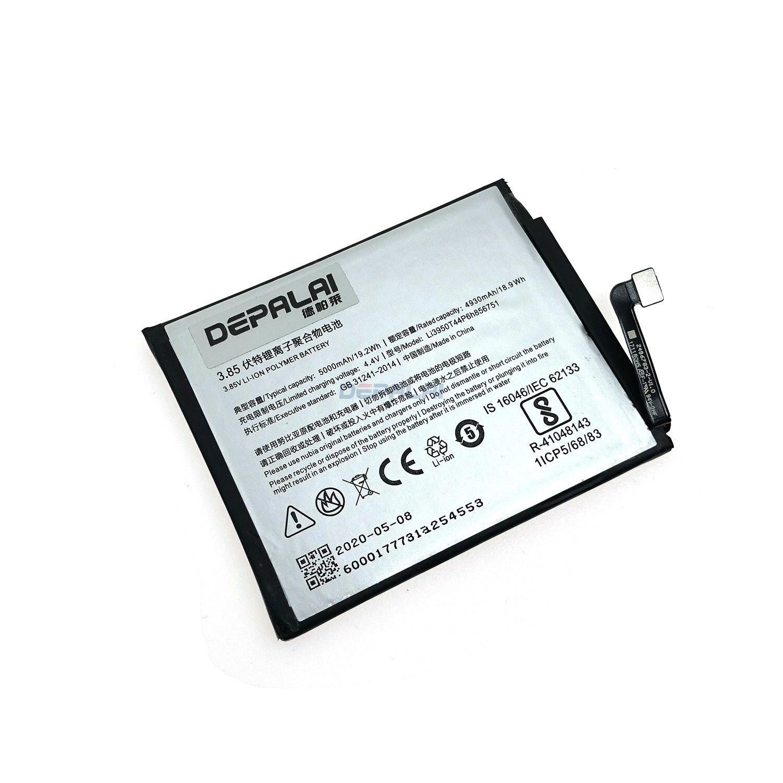 5000mAh Li3950T44P6h856751 Replacement Battery Bateria Batterij For ZTE Nubia N2 NX575J Mobile Phone Batteries(China)