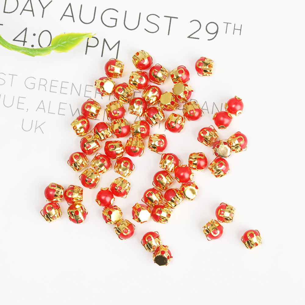 20/40 Pcs 5 Millimetri Mini Bambola Bottoni Ultra-Piccola Perla Fibbia Cintura Bambola Fai da Te Borse Scarpe Fibbie 1/6 Dei Vestiti Della Bambola Artigianato Accessori