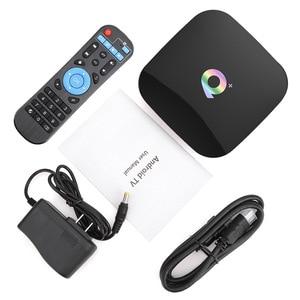 Image 5 - Qプラスのandroid 9.0 tvボックススマートtvボックス4ギガバイトのram 64ギガバイトallwinner H6クアッドコア6 18k h.265 USD3.0 2.4 3g wifi googleプレイストアyoutube