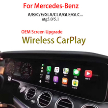 Wireless Apple CarPlay For Mercedes-Benz C Class C180 Android Mirroring CarPlay Kits Entertainment Camera Video Interface