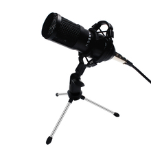 Bm800 Professional Condenser Sound Microphone Kit 5pcs/set Bm 800 Karaoke Desktop Microphone Mic Wire With Shock Mount Spider