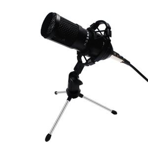 Image 1 - Bm800 Professional Condenser Sound Microphone Kit 5pcs/set Bm 800 Karaoke Desktop Microphone Mic Wire With Shock Mount Spider