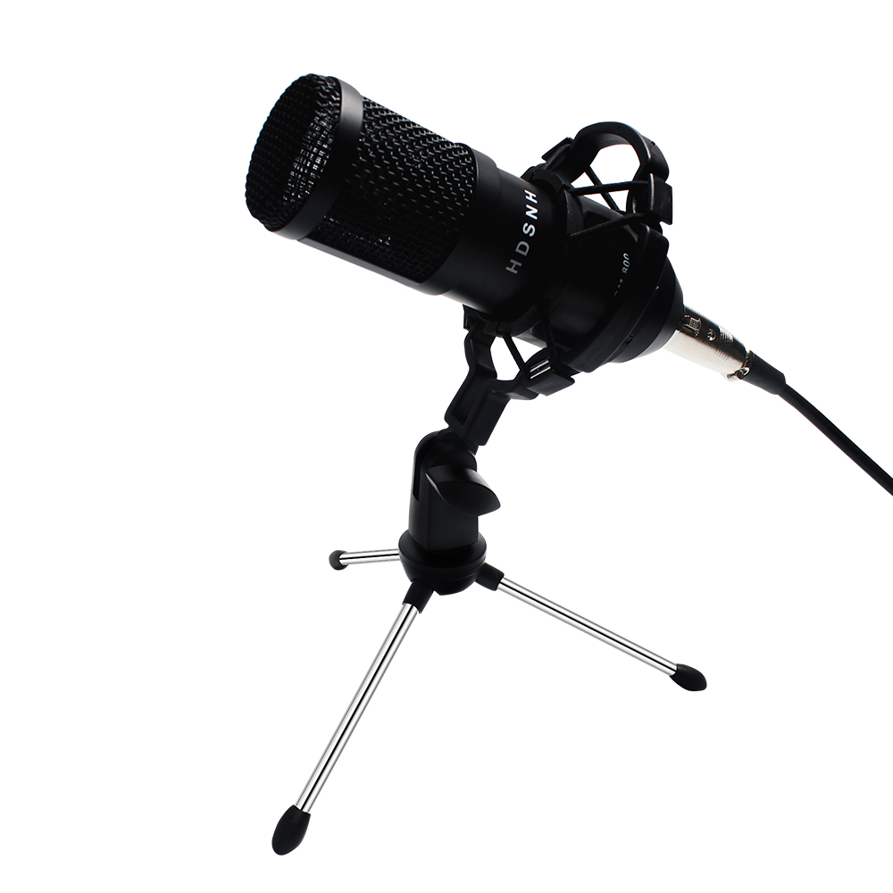 Bm800 Professional Condenser Sound Microphone Kit Bm-800 Conference Karaoke Bm 800 Dynamic Microphone Mic Wire With Shock Mount