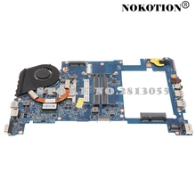 Nokotion материнская плата для ноутбука Acer Aspire 1430 1830 т MBPTV01011 i5-560U материнская плата портативного компьютера с радиатора