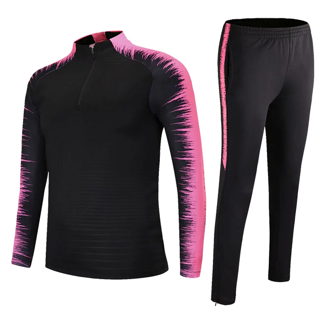 Kids Adults Soccer Jerseys Sets Survetement Football Kits Men Child Running Jackets Sports Training Tracksuit Uniforms Suit 7