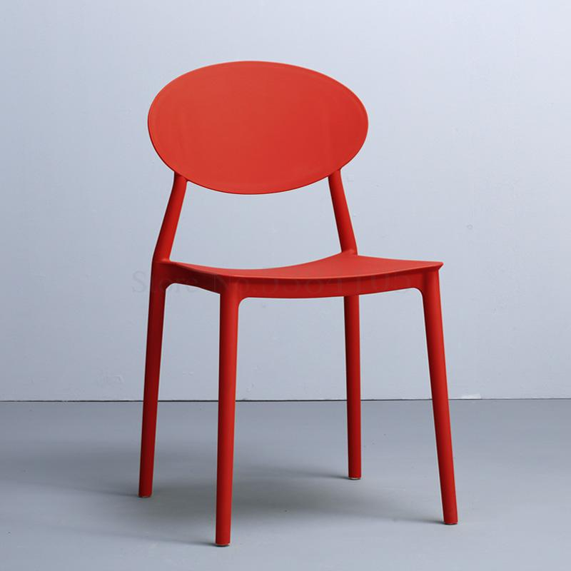 Chair Home Modern Simple Lazy Plastic Stool Chair Nordic Leisure Chair Ins Net Red Discussion Chair