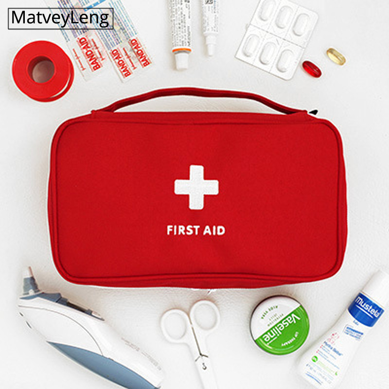 Fashion Travel Medicine Bag Storage Bag First Aid Kit Medicine Organizing Sundries Large