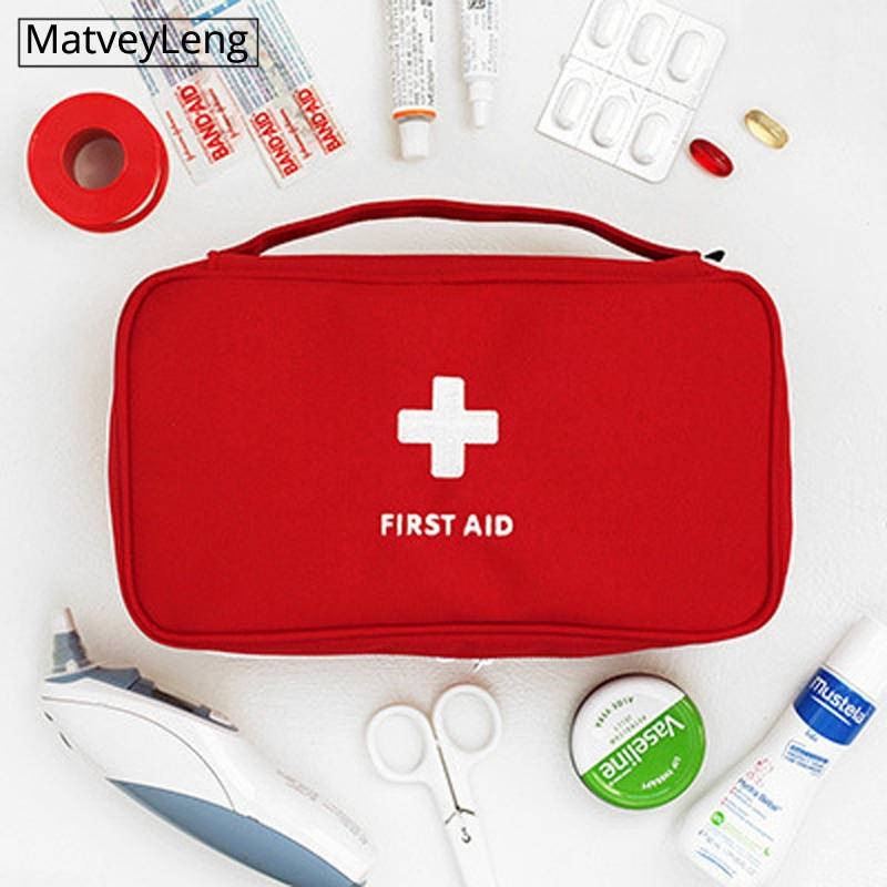 Fashion Travel Medicine Bag Storage Bag First Aid Kit Medicine Organizing Sundries Large