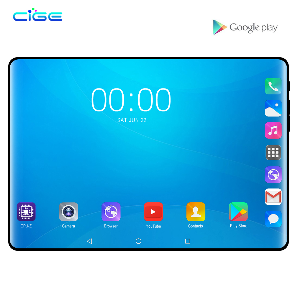 2019 Best-selling 10.1 Inch 4G Phone Call Tablet Pc Android 8.0 Octa Core RAM 6GB 64GB ROM Brand Dual SIM Card WiFi GPS Tablets