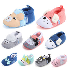 2019 Kids Girls Boys First Walkers Soft Infant Toddler Shoes Cute Flower Soles C