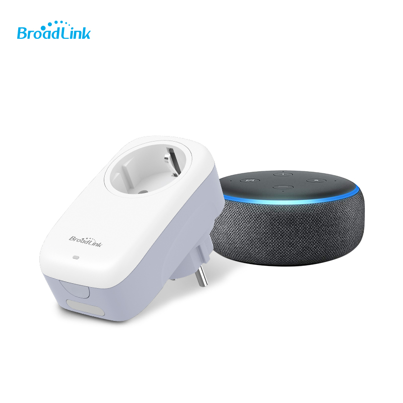 Newest Broadlink SP4L SP3S Control EU Wireless WiFi Smart Socket Timer Power Plug 16A Remote Control Outlet Support Alexa Siri