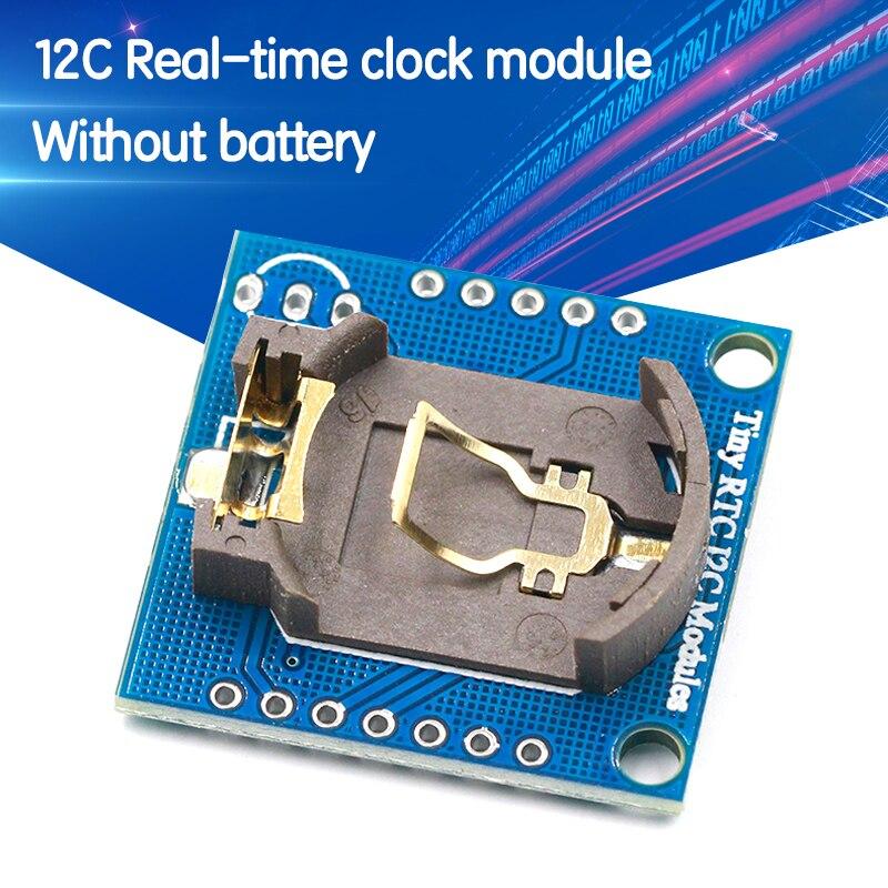 Новое поступление, 1 шт., часы в режиме реального времени AT24C32, модуль RTC I2C DS1307 для AVR ARM PIC 51 ARM Promotion