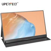 UPERFECT taşınabilir 13.3 inç monitör 1080P FHD göz bakımı ekran çift hoparlör bilgisayar oyun ekranı anahtar PS4 XBOX bir