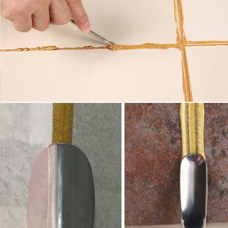 5Pcs/Set Tile Beauty Seam Construction Tool Set Cleaning Corner Angle Scraper Manual Grout Pump Flooring Tools