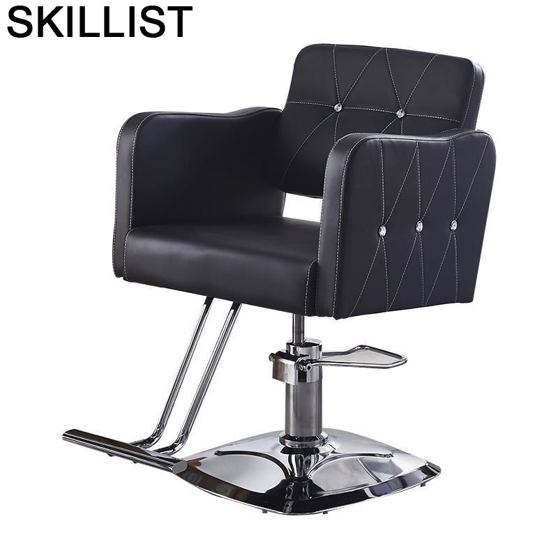 Sessel Sedie Cadeira Barbeiro Belleza Makeup Stoelen Barbero Mueble De Barbershop Barbearia Silla Salon Shop Barber Chair