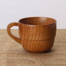 Экологически чистые деревянные ручки, двухсекционная деревянная чашка, китайская антикварная чашка, изоляционная домашняя чашка для украшения чайного дома