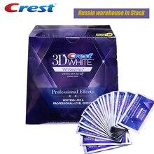 3D Trắng Răng Crest 3D White Whitestrips LUXE Ban Đầu Chuyên Nghiệp Tác Dụng Làm Trắng Răng Dải Răng Tẩy Trắng Gel VIP