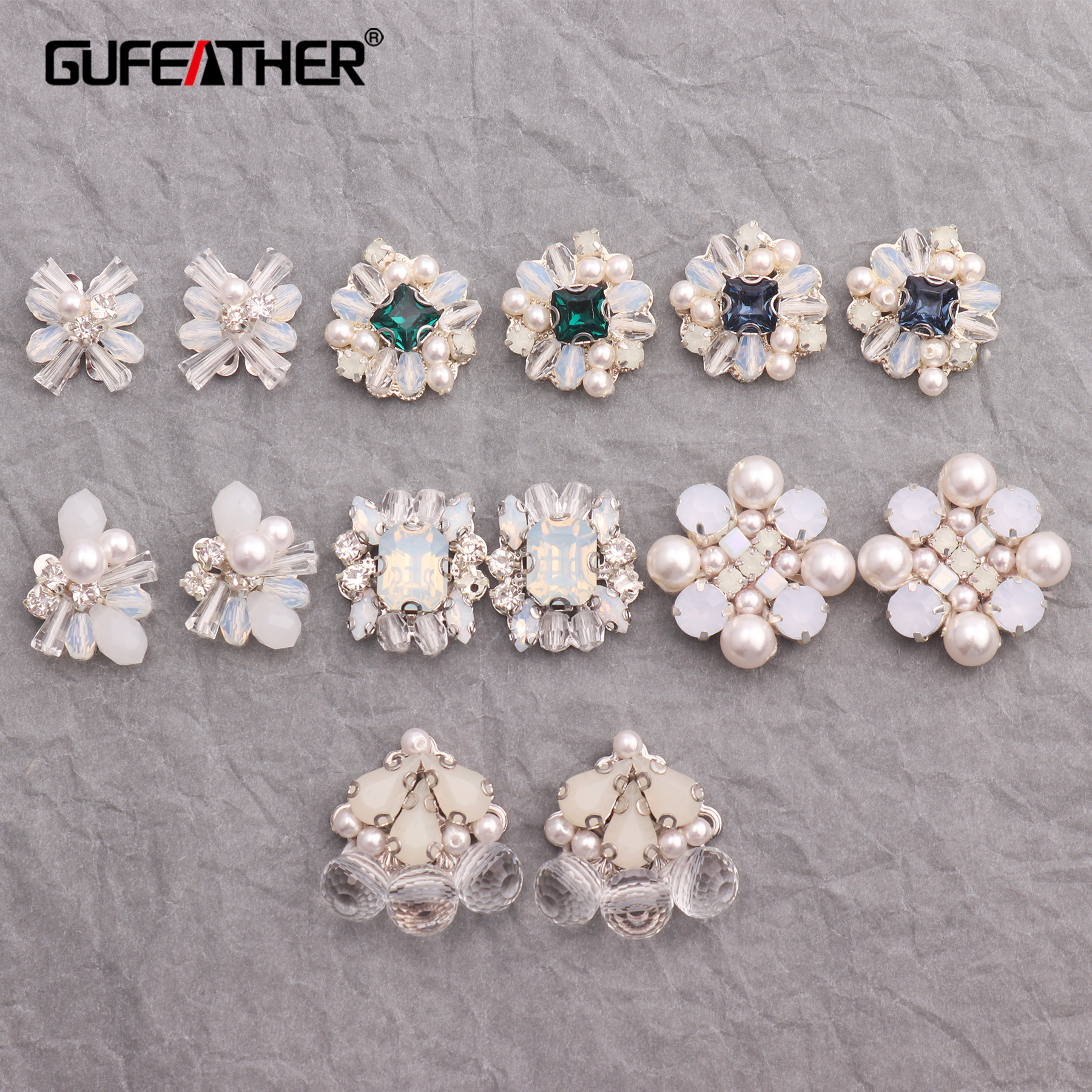 GUFEATHER M306,jewelry Making,earring Accessories,hand Made,jewelry Findings,glamour Earrings,jewelry Accessories,diy Earrings