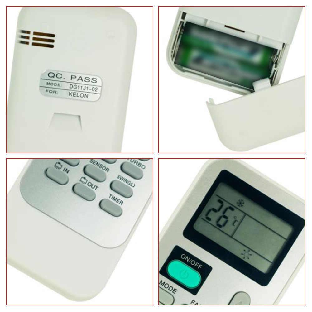 AC Universal Remote Control Portabel Mudah Mengoperasikan Rumah Layar LCD ABS Versi Bahasa Inggris Alat Ekstra untuk Hisense