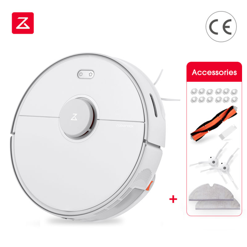 2020 Roborock S50 S5max Vacuum Cleaner Wet Dry Robot Mopping Sweeping Dust Sterilize Smart Planned Wash Mop