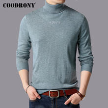 COODRONY Brand Thick Warm Turtleneck Sweaters Winter Sweater Men Cotton Pull Homme Pullover Men Clothes 2019 Jersey Hombre 91126(China)