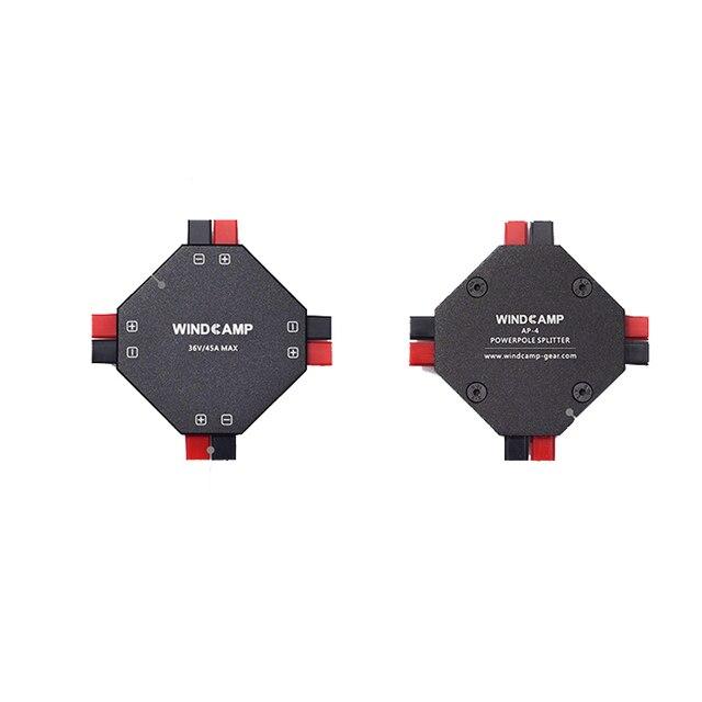 Dernière version WINDCAMP AP-4 30A POWERPOLE séparateur 4 ch alimentation distributeur jambon Radio T0975