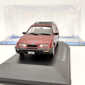Image 4 - 1/43 IXO Ford Sierra Ghia Rural 1988 Red Diecast Toys Models Collection Car Gift