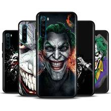 Jim Lee Batman Joker Phone Case for Xiaomi Redmi Note 7 8 8T 9S Note 8 9 Pro Redmi 6A 7A 8A K20 K30 Pro Silicone Soft Cover marvel superheroes logo phone case for xiaomi redmi note 7 8 8t 9s note 8 9 pro redmi 6a 7a 8a k20 k30 pro silicone cover