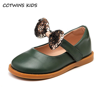 kids shoes 2020 new spring girls fashion genuine leather shoes princess party flats children black mary jane footwear flower CCTWINS Kids Shoes 2021 Spring For Girls Butterfly Shoes Children Fashion Party Flats Mary Jane Toddler Princess Flats GM2748