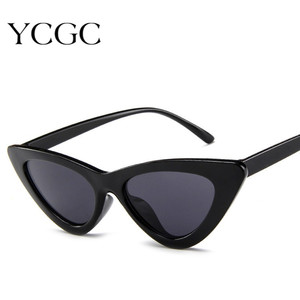 Cat Eye Sunglasses Women Sexy Retro Small Cateye Sun Glasses Mens 2020 Brand Designer Colorful Eyewear Shades For Female
