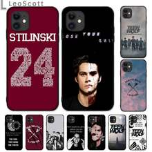 Dylan O'Brien Teen Wolf fresco teléfono caso para iphone 5 5s 5c se 6 6s 7 8 plus x xs x xr 11 pro max(China)
