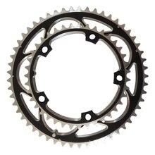 TRUYOU Cadena de cadena para bicicleta de carretera, plegable, 130BCD, 53T, 52T, 50T, 48T, 42T, 39T, 38T
