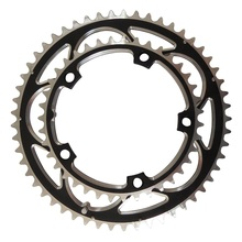 TRUYOU Chainring 130BCD 53T 52T 50T 48T 42T 39T 38T Chain Ring Chainwheel Road Bicycle Folding Bike CNC for Double Chain Wheel