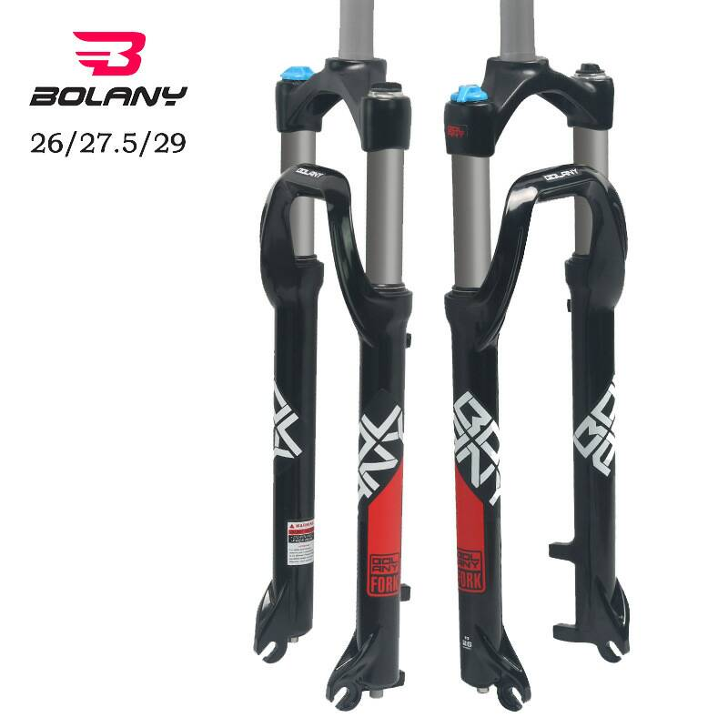 Lcycle Snow Bike and Beach Vehicles Shock Absorber Oil Pressure Front Fork 135mm 26''Magnesium Alloy Fat Tire Mountain Bicycle|Bicycle Fork| |  - title=