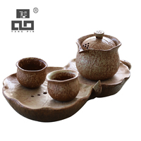 TANGPIN ceramic teapots gaiwan teacups a tea sets chinese gongfu tea sets drinkware|Teaware Sets| |  -