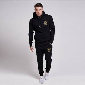 Hooded Sweatshirts Pullover Sik Streetwear Autumn Mens Hip-Hop Fashion