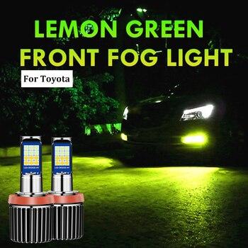 2PC H11 H8 Car LED Bulbs Driving Fog Light Lamp Bulb For Toyota CHR C-HR 2017 2018 2019 2020