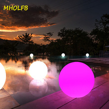 Ball-Lights Pool Illuminated-Ball Table-Lawn-Lamps Pathway Glowing Colorful Outdoor Garden