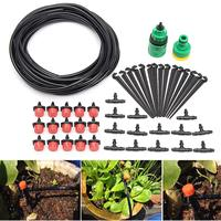 Micro Flow Drip Watering Irrigation Kits System Self Plant Garden Hose Watering Kits 10 Metre Hose|Watering Kits| |  -