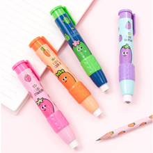 Pencil-Eraser Earsers Pen-Shaped Office-Accessories Learning-Supplies Rubber School-Stationery