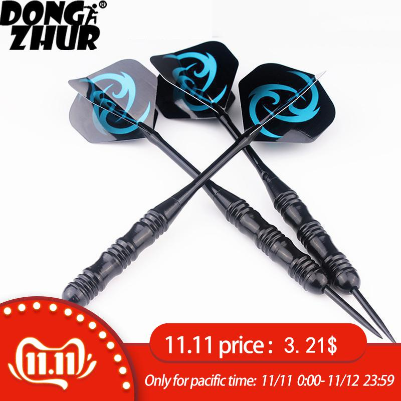 3 Pcs/Sets Of Darts Professional 22g Steel Tip Dart With Aluminium Shafts Nice Dart Flights High Quality