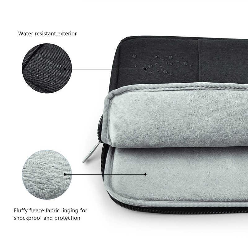 Nylon Laptop Sleeve Notebook Tasche Pouch für Macbook Air 11 13 12 15 Pro 13,3 15,4 Retina Unisex Liner hülse für Xiaomi Luft