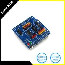 1 Pcs I/O Extension Board Sensor Expansion Board For Arduino Uno Mega2560 diy electronics k521 16dx expansion i o module16di dc24v new