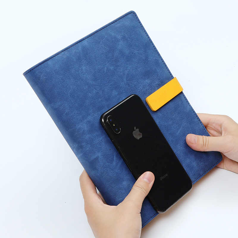 Кожаный спиральный блокнот A5, оригинальный офисный личный дневник/еженедельник, органайзер, кольцо, канцелярские принадлежности, папка 2020