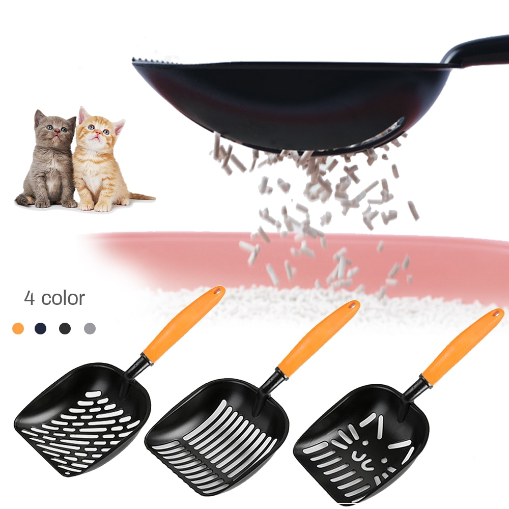 Cat Metal Pooper Scoopers Pets Litter Sand Shovel Pet Shit Artifact Dogs Waste Shovel Cleaning Scoop Cat Litter Scoop